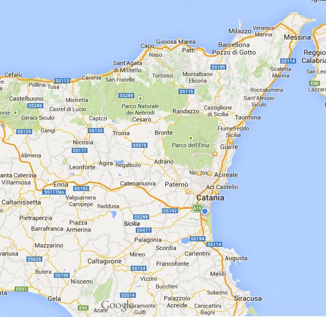 Sicilia Orientale Itinerari